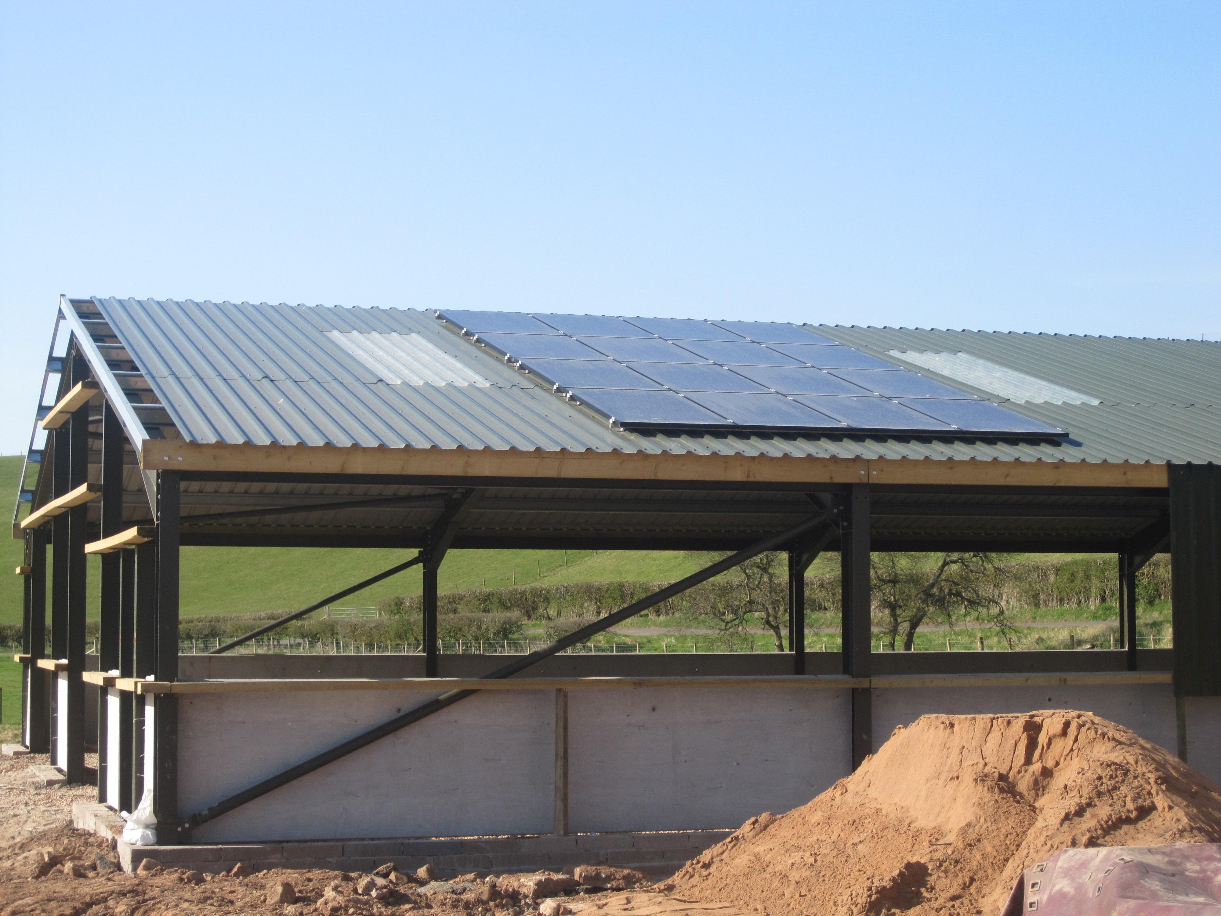 Agricultural Solar Panel Installation in Longmarton Cumbria