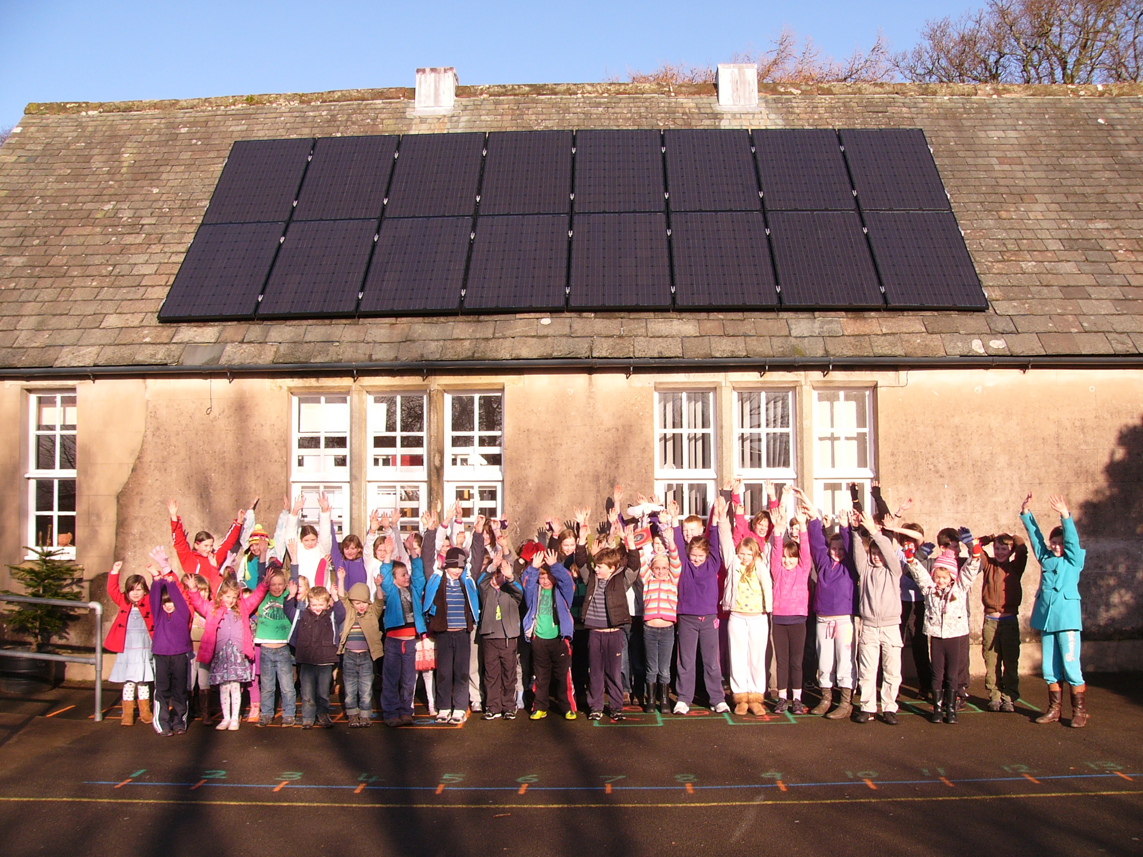 Community PV Installation Lorton Svhool Cumbria