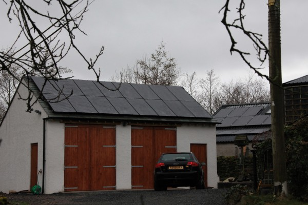 Solar Panel Installation Penruddock Cumbria