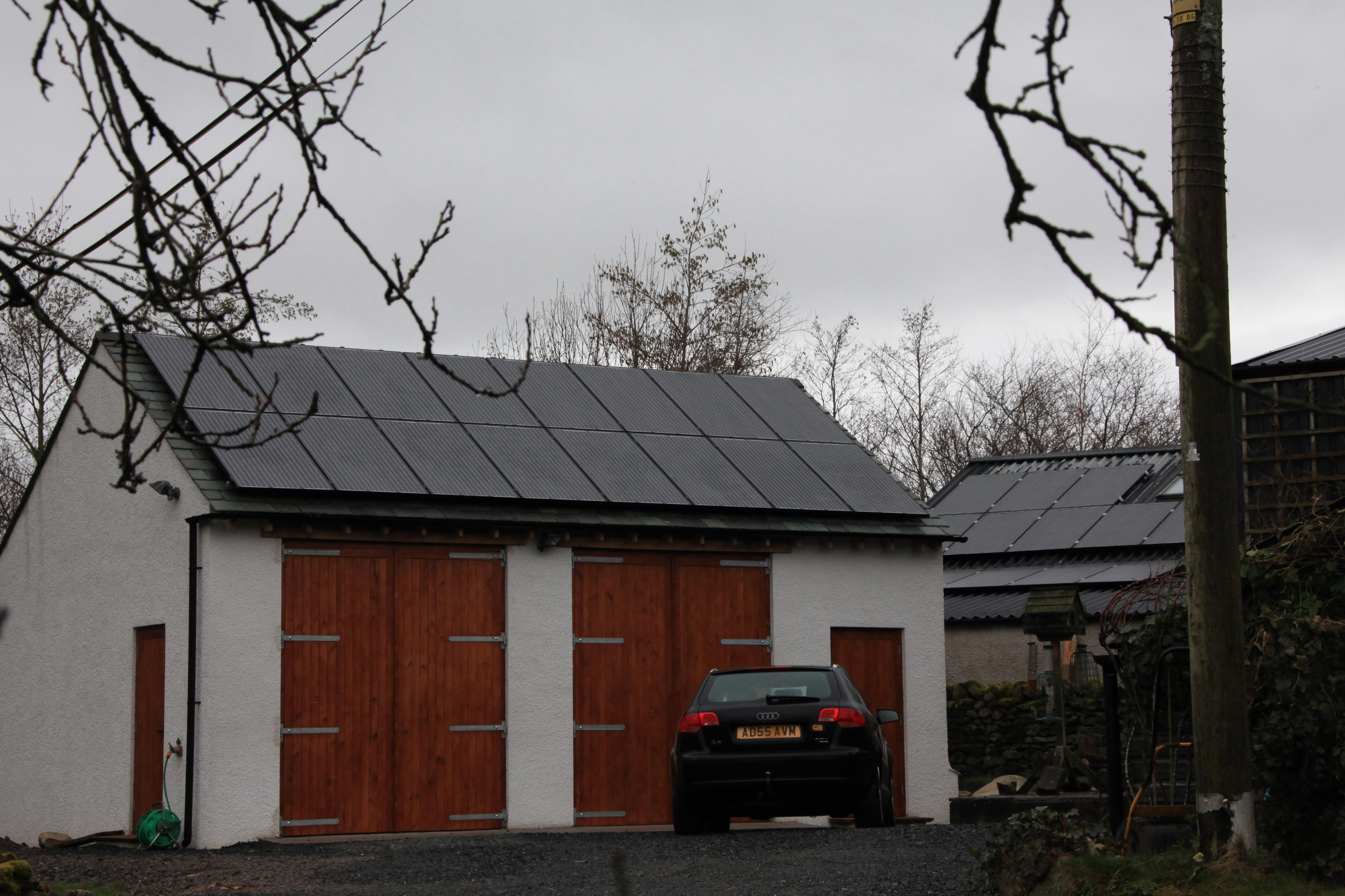 Solar Panel Installation Penruddock Cumbria