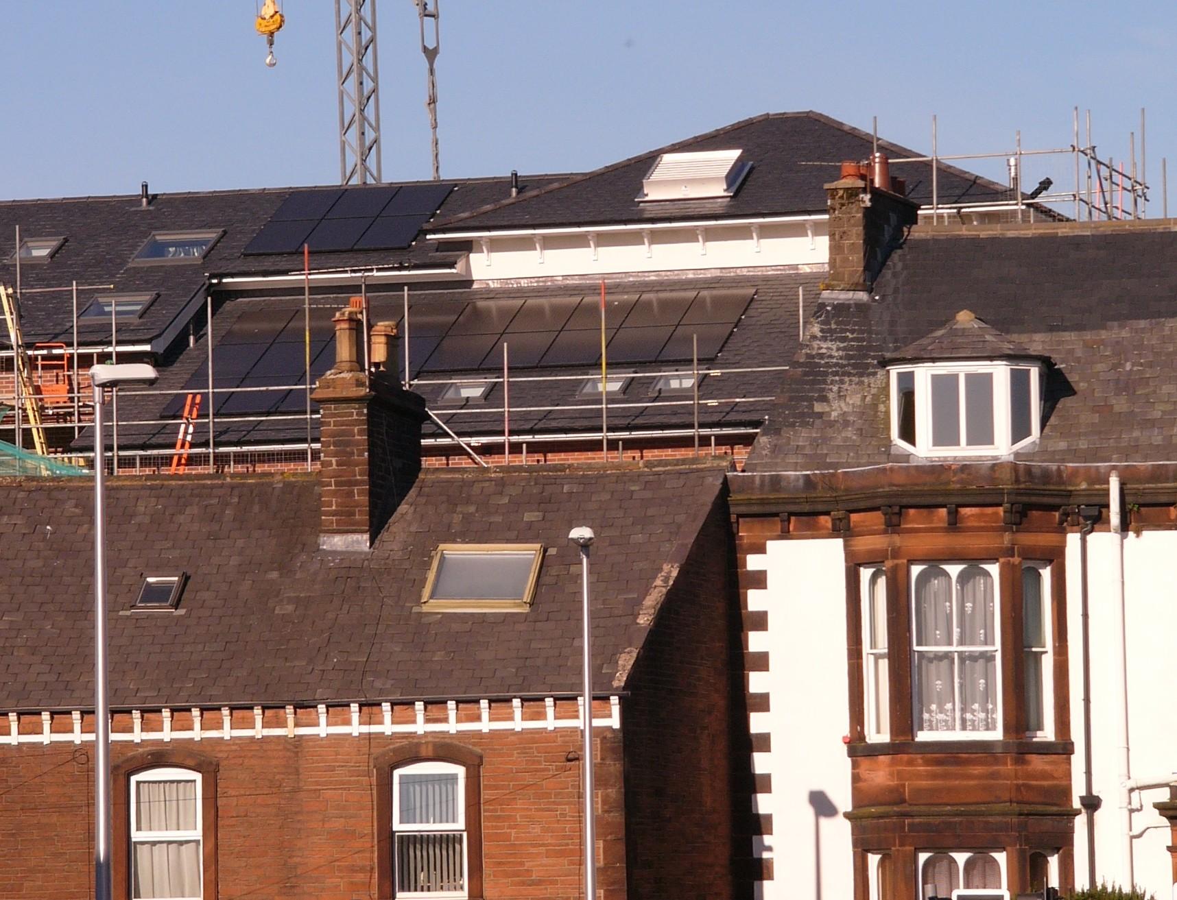 Eden Foyer Roof Solar PV System