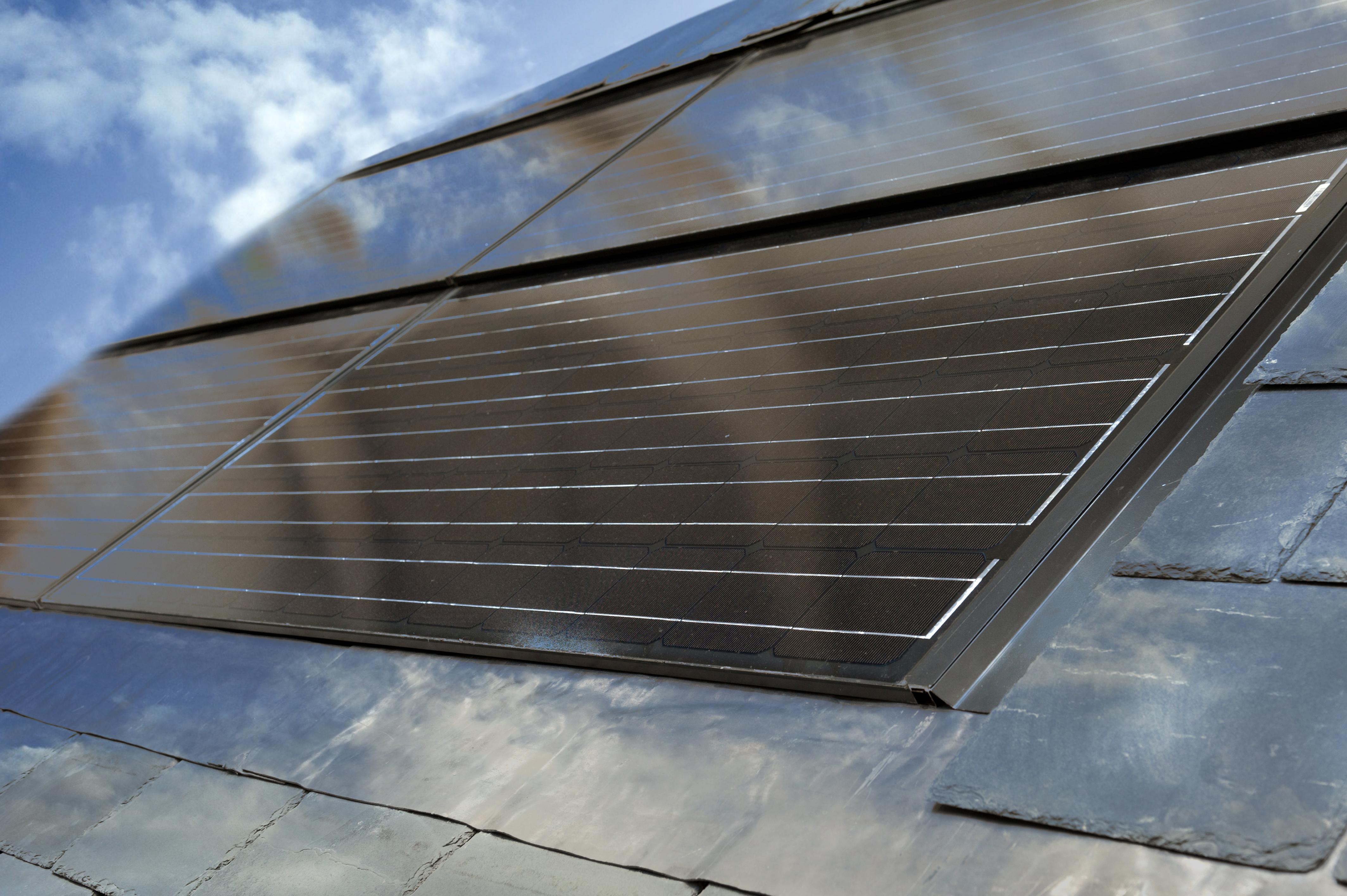 Solar Tiles vs Solar Panels Solar-tile 195 And Solar-tile