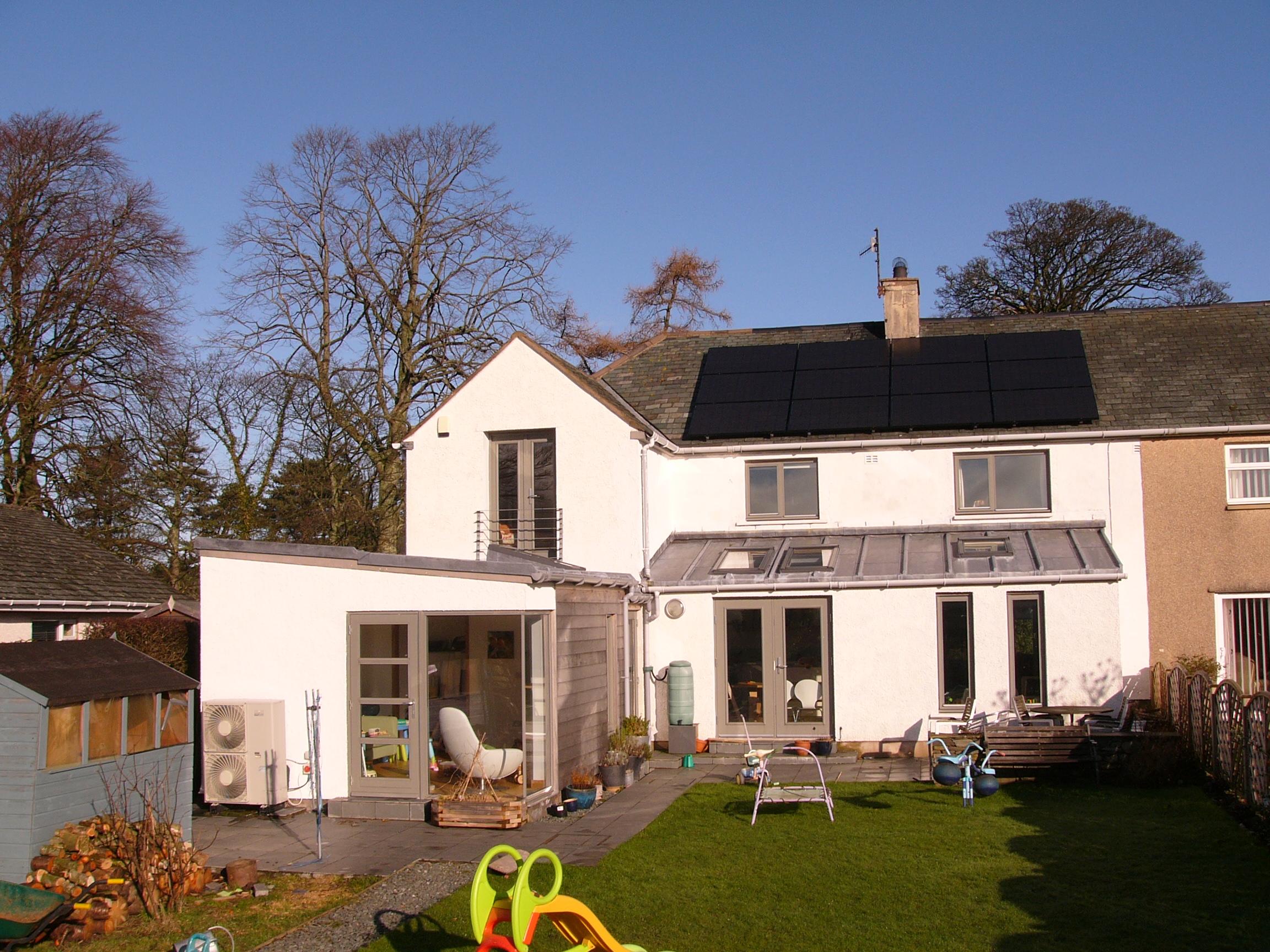 Residential Solar PV Installation High Lorton Cumbria