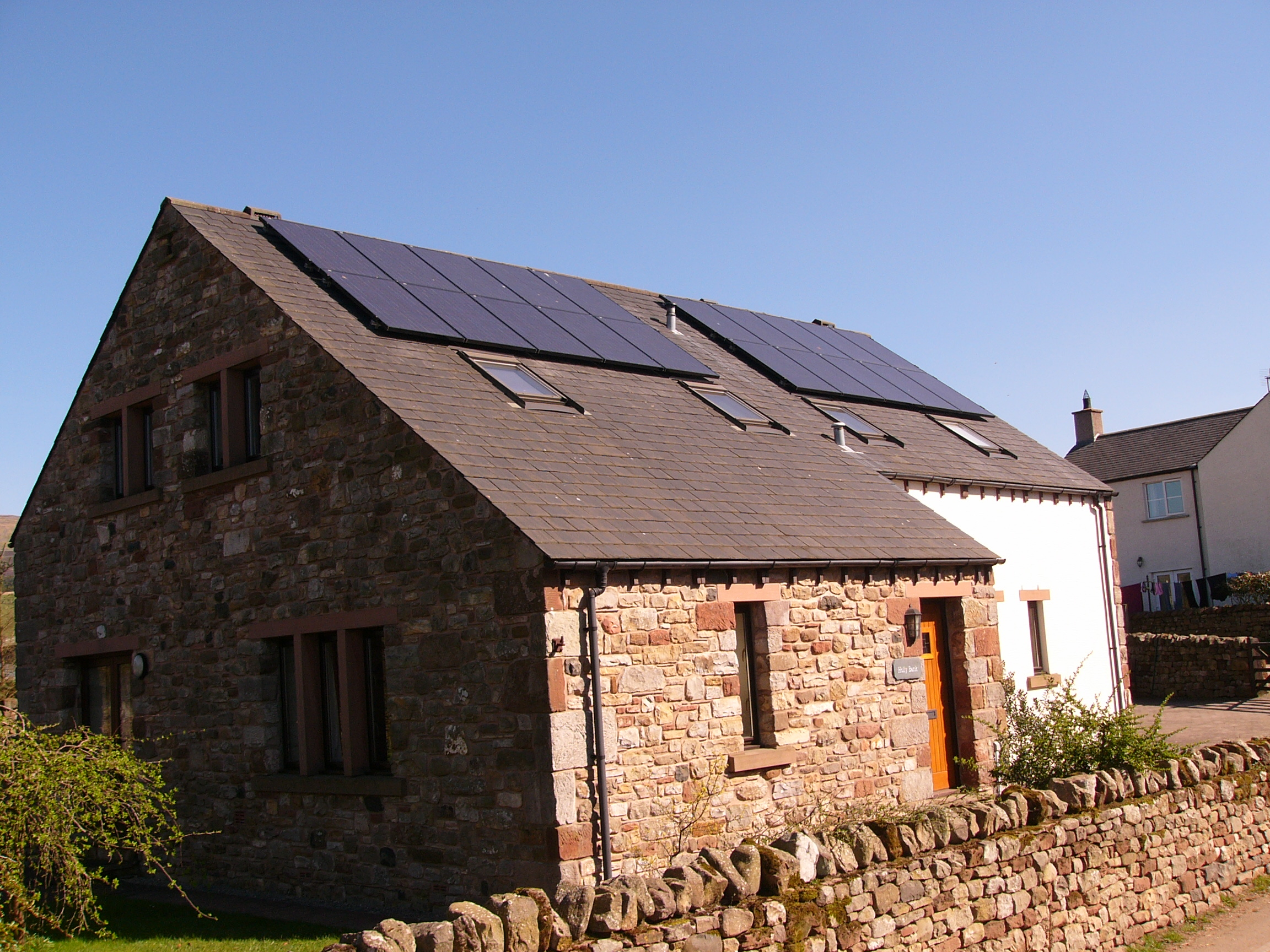 Solar Panel Installation Duton Cumbria