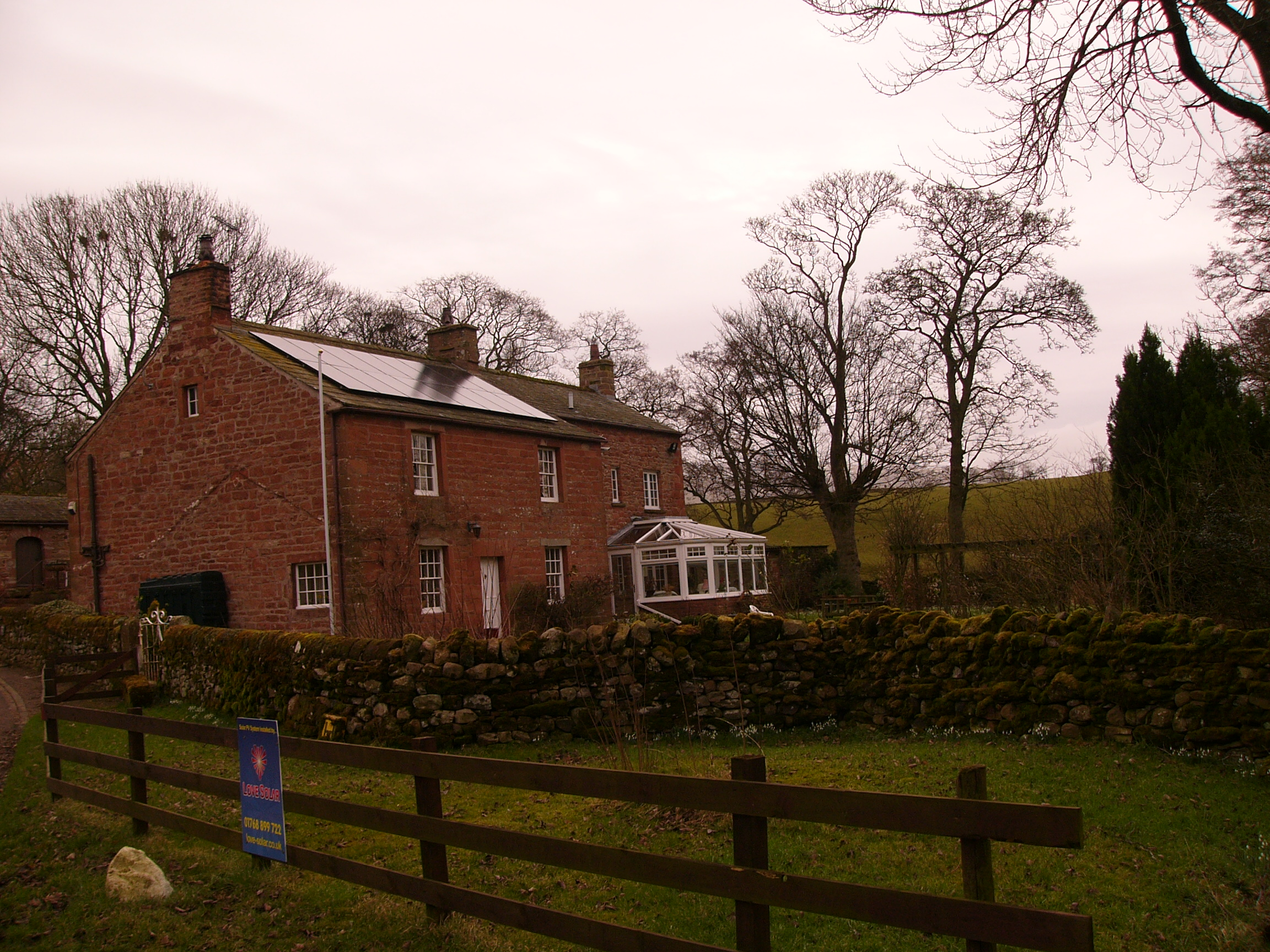 Solar PV Installation Ousby Cumbria